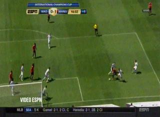 Real Madrid 1 - 1 Manchester United (Amistoso Internacional)