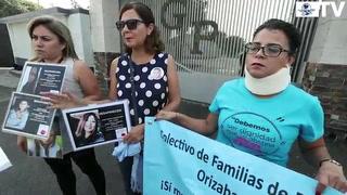 Madres de desaparecidos en México 'visitan' a Duarte