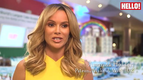 Amanda Holden: \'This cake will feed 12,000 people\'
