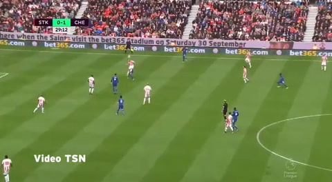 Stoke City 0- 4 Chelsea (Premier League 2017)