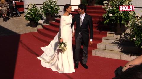 La boda del año: Eva González y Cayetano Rivera ya son marido y mujer