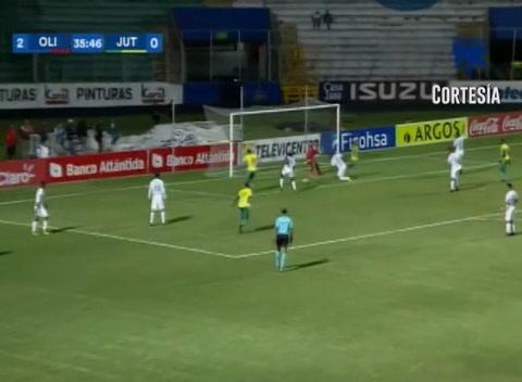 Gol de Juticalpa al Olimpia (Liga Nacional 2017)