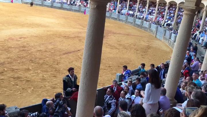 El emotivo vídeo en el que Francisco Rivera brinda el último toro de su carrera a su hija Cayetana