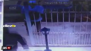 El impactante momento cuando secuestran a madre de un futbolista brasileño