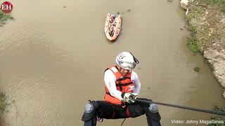 Cruz Roja prepara a sus unidades en simulacro de rescate