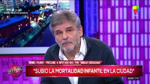Filmus denunció el crecimiento de la mortalidad infantil en la Ciudad de Buenos Aires
