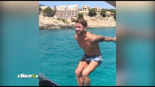El salto de tres millones de reproducciones de Sergio Ramos desde su yate
