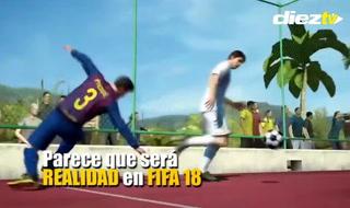 Fifa Street iría incluído dentro del FIFA 18
