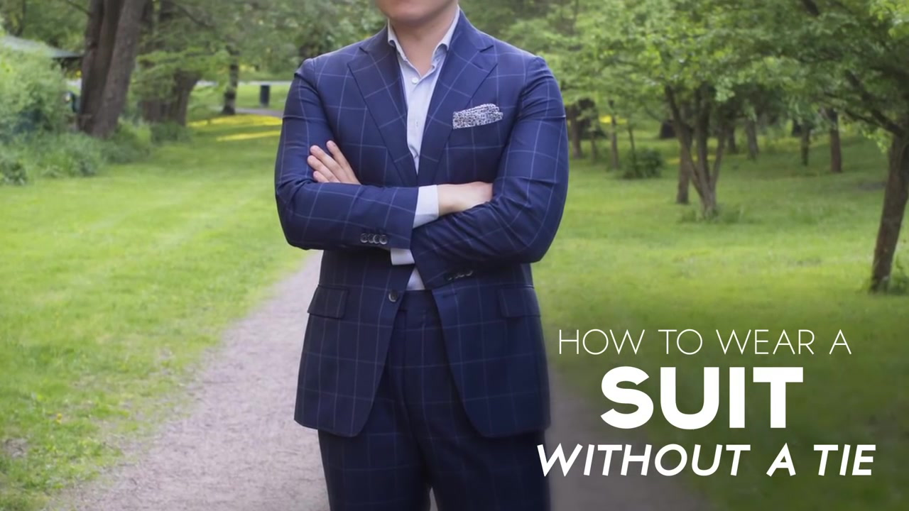 How To Wear A Suit With No Tie 5 Things Consider Before Going Tieless Wearing Sports Jacket Blazer Or Suits