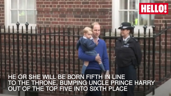All You Need To Know About The New Royal Baby