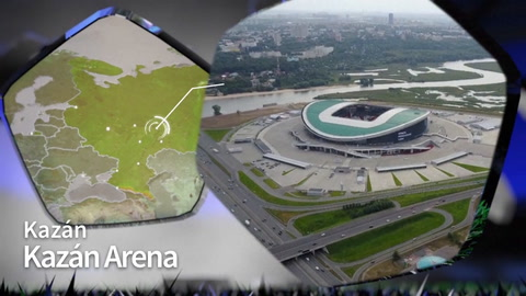 Estadio Kazán Arena Rusia 2018