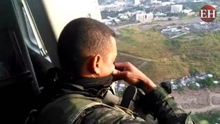 Mediante operación Paz y Democracia el aire se vigilarán colonias capitalinas