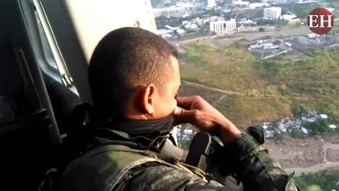 Mediante operación Paz y Democracia, por aire se vigilarán colonias capitalinas