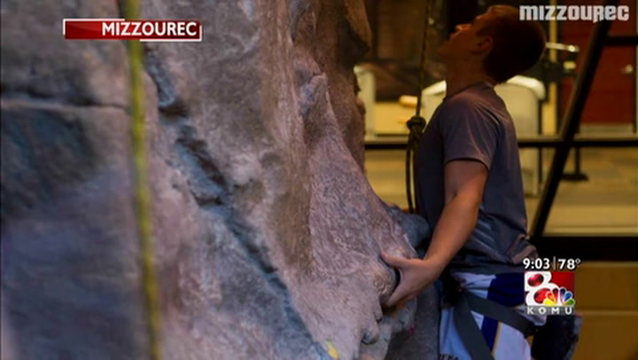 Climbers oppose MU's plan to remove rec center rock wall