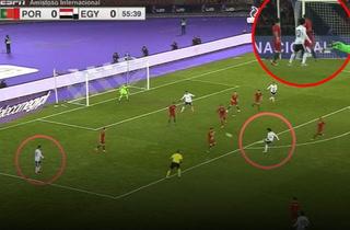 ¡GOLAZO! La joya que anotó Salah a la Portugal de Cristiano Ronaldo