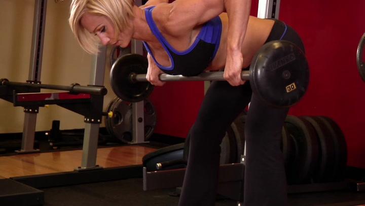 Barbell Rear Delt Row - Shoulder Exercise - Bodybuilding.com