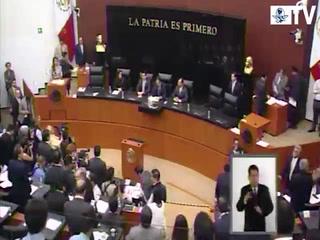 Instalan Comisión Permanente en Congreso de la Unión