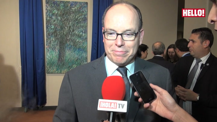 Prince Albert on the twins: \'They are wonderful, we are very proud of them\'