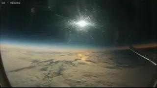 Impresionante: Así se vio el eclipse solar desde un avión