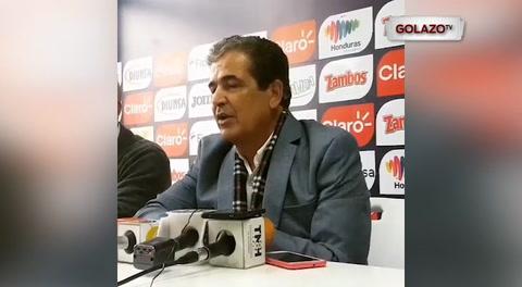 Jorge Luis Pinto se despide de Honduras entre lágrimas: