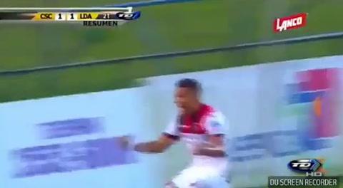 El gol de Roger Rojas para empate del Alajuelense ante Cartaginés