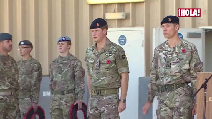 El emotivo mensaje del príncipe Harry para el soldado que le ayudó tras la muerte de su madre