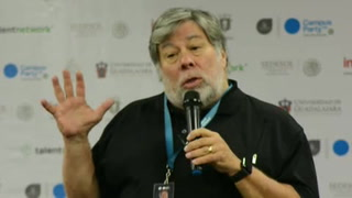 Steve Woszniak da su visión del iPhone en Campus Party