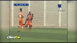 ¡GOOOL! Marco Tulio Vega anota el 1-0 en el Motagua-UPNFM
