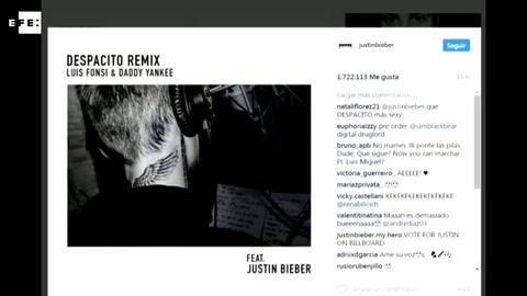 Justin Bieber graba en Bogotá nueva versión del éxito