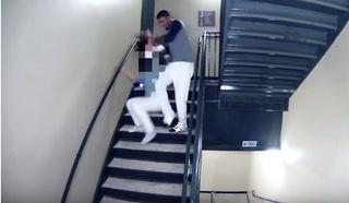El impactante video en donde se ve a jugador de béisbol golpear a su pareja
