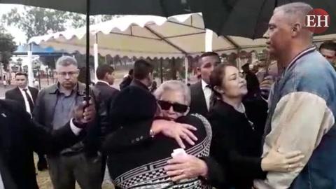 Conmovedoras palabras de aliento de la madre de Hilda Hernández