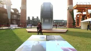 Torre futurista purificará el cielo de Pekín