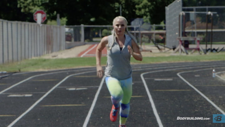 Sprints And Plyos Track Workout | Samantha Ann Leete