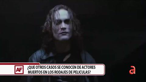 ¿Qué otros casos se conocen de actores muertos en los rodajes de películas?