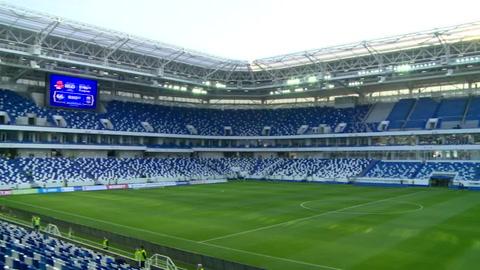 Estadio de Kaliningrado está listo para el Mundial Rusia-2018