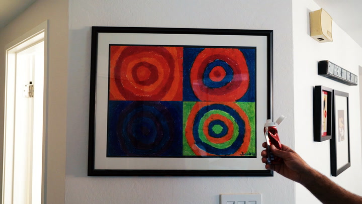 How to Hang Pictures With Toothpaste (Really!)