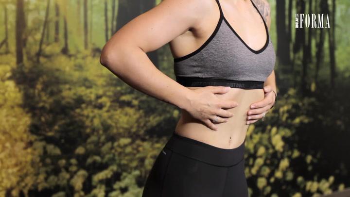 Abdominales hipopresivos: el secreto de Pilar Rubio para un cuerpo perfecto