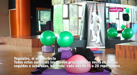 Amiga: Yogalates, el mix perfecto