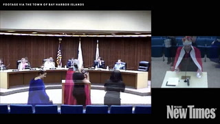 Miami Plastic Surgeon Wears King's Robes To City Council, Declares Independence