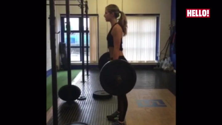 Vogue Williams fitness video