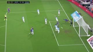 Barcelona vence al Málaga y continúa de puntero absoluto