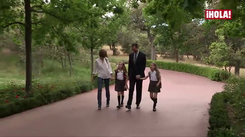 La princesa Leonor a su padre: \'¿Por qué no te han dado el premio a ti?