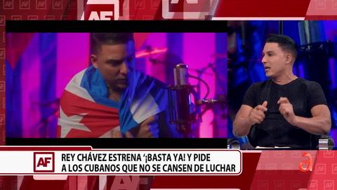 Conversamos con el músico cubano de Miami, Rey Chávez sobre su nueva canción denunciando a la dictadura cubana
