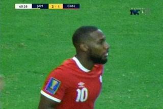 ¡GOOL DE CANADA! Junior Hoilett anota el 1-2  ante Jamaica