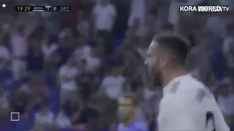 Real Madrid ganó 2-0 vs Getafe en la primera fecha de La Liga