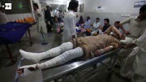 Al menos 25 muertos y a 100 heridos en el segundo atentado en Pakistán