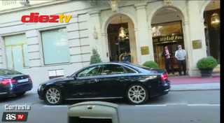 Presidente del Barcelona y PSG cazados en Madrid