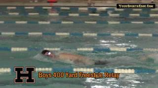 Hoptown Boys Win 400 Yard Freestyle Relay