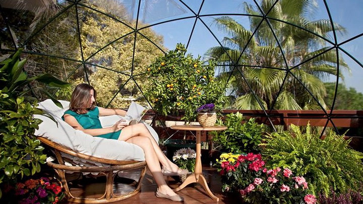 The Garden Igloo Is a Geodesic Dome for Your Lawn Digital Trends