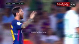 Liga española: Barça vence al Betis en el Camp Nou